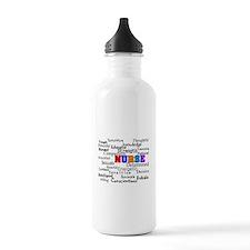Nurse Sports Water Bottle
