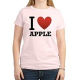 Cute Apple computer T-Shirt