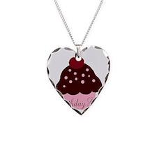 Birthday Girl Cupcake Necklace