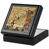 Gustav Klimt Tree Of Life Keepsake Box