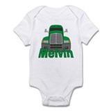 Trucker Melvin Infant Bodysuit