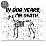 In Dog Years I'm Death Puzzle