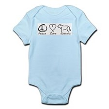 Peace Love Estrela Infant Bodysuit