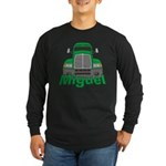 Trucker Miguel Long Sleeve Dark T-Shirt