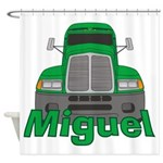 Trucker Miguel Shower Curtain