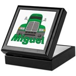 Trucker Miguel Keepsake Box