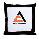 """ALLIS-CHALMERS"" Throw Pillow"
