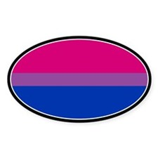 Bisexual Pride Oval Decal