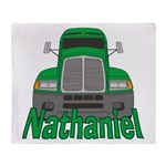 Trucker Nathaniel Throw Blanket