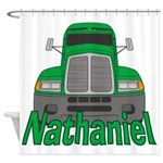 Trucker Nathaniel Shower Curtain