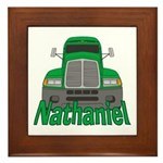 Trucker Nathaniel Framed Tile