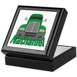 Trucker Nathaniel Keepsake Box