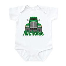 Trucker Nicholas Infant Bodysuit