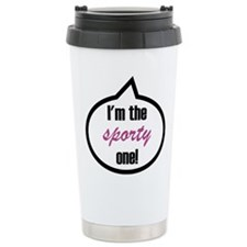 I'm the sporty one! Ceramic Travel Mug