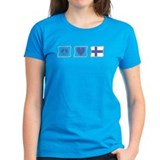 Peace, Love and Finland Tee