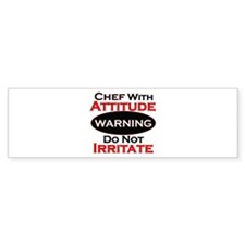 Cute Chef Bumper Sticker