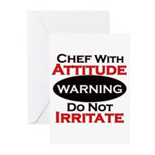 Unique Chef Greeting Cards (Pk of 10)