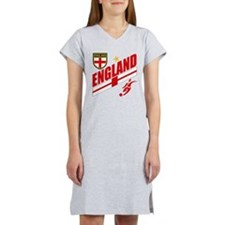 England World cup Soccer Women's Nightshirt