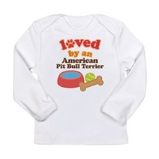 American Pit Bull Terrier Gift Long Sleeve Infant