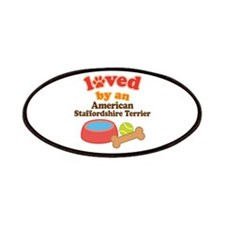 American Staffordshire Terrier Dog Gift Patches