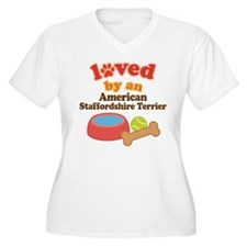 American Staffordshire Terrier Dog Gift T-Shirt