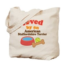 American Staffordshire Terrier Dog Gift Tote Bag