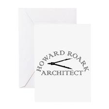 Howard Roark Greeting Card