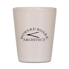 Howard Roark Shot Glass