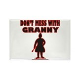 Don't Mess with Granny / Rectangle Magnet (100 pac