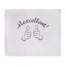 Cute Mexcellent Throw Blanket
