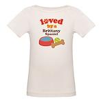 Brittany Spaniel Dog Gift Organic Baby T-Shirt