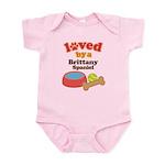 Brittany Spaniel Dog Gift Infant Bodysuit