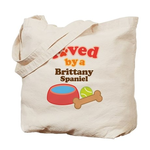 Brittany Spaniel Dog Gift Tote Bag