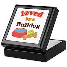 Bulldog Dog Gift Keepsake Box