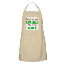 The Cook Quit Barbecue/Kitchen Apron
