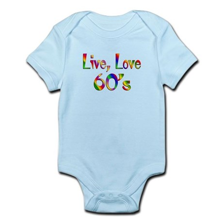 Live Love 60s Infant Bodysuit
