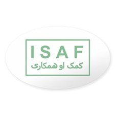 ISAF - Green (2) Decal