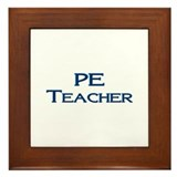PE Teacher Framed Tile