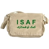 ISAF - Green (1) Messenger Bag