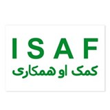 ISAF - Green (1) Postcards (Package of 8)