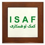 ISAF - Green (1) Framed Tile
