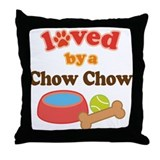 Chow Chow Dog Gift Throw Pillow