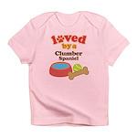 Clumber Spaniel Dog Gift Infant T-Shirt