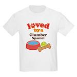 Clumber Spaniel Dog Gift Kids Light T-Shirt