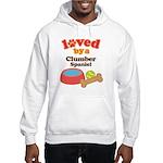 Clumber Spaniel Dog Gift Hooded Sweatshirt