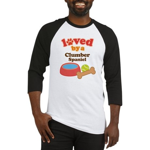Clumber Spaniel Dog Gift Baseball Jersey