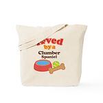 Clumber Spaniel Dog Gift Tote Bag