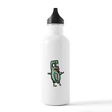 Zombie Penguin Sports Water Bottle