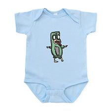 Zombie Penguin Infant Bodysuit
