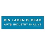 Osama bin Laden is dead, auto industry is alive St
